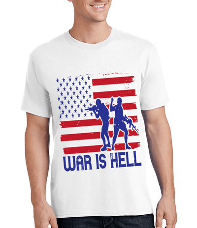 """WAR IS HELL"" MILITARY Men's"