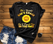"""I'm Blunt And She's Grace"" -Pack of 2"