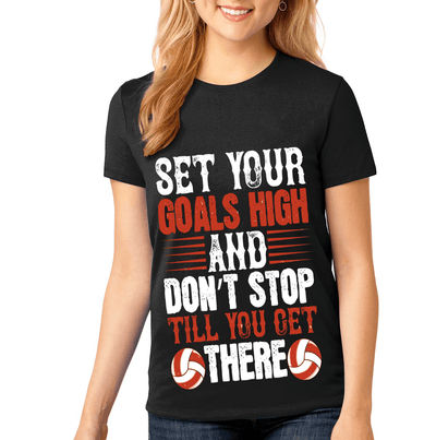 """SET YOUR GOALS HIGH"" Volleyball"