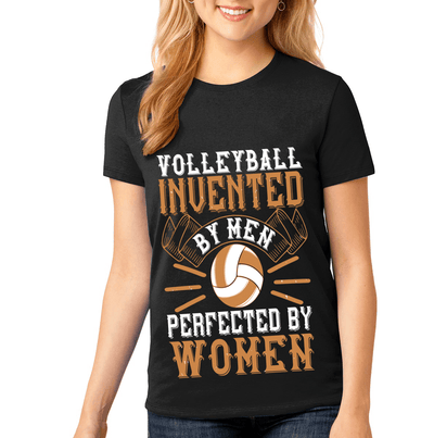 """VOLLEYBALL INVENTED BY MEN -PERFECTED BY WOMEN"" Volleyball"