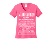 """FEBRUARY GIRLS ARE FUN LOVING"" -Pink"