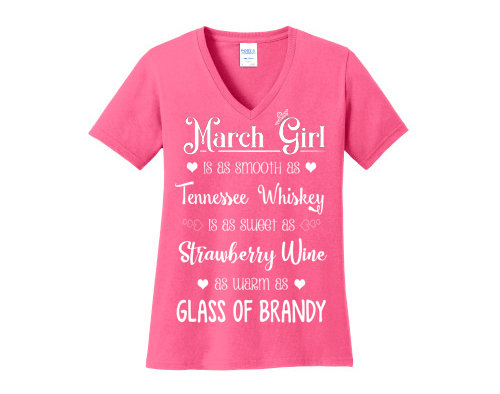 """March Girl Is As Smooth As Whiskey"""