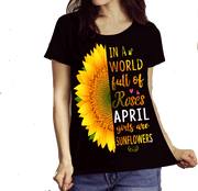 """April Combo (Sunflower And 3 Sides)"" Pack of 2 Shirts"