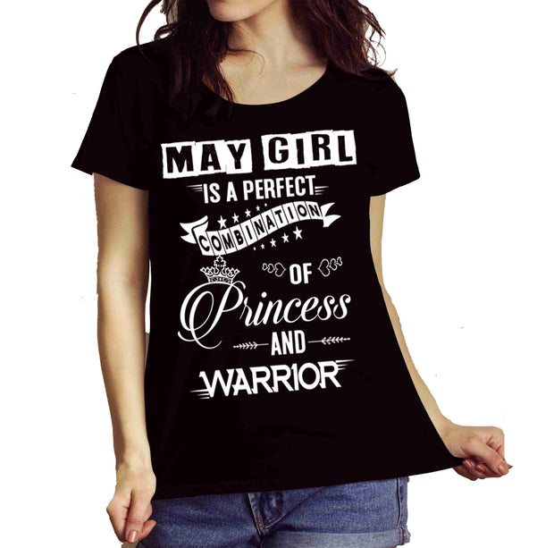 """May Girl Is Perfect Combination Of Princess And Warrior"""
