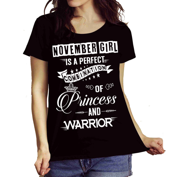 """November Girl Is Perfect Combination Of Princess And Warrior"""
