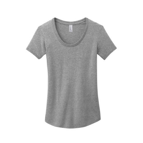 """Scoop neck - Form-fitting & 100% ring spun cotton"""
