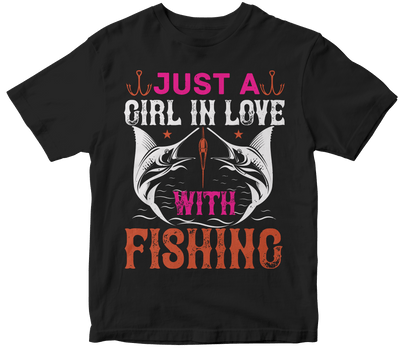"""Just a GIRL IN LOVE with fishing"" Fishing"