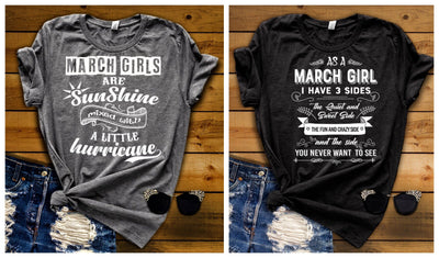 """March -Sunshine & 3 Sides -Pack of 2"""