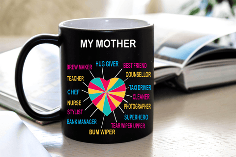 """MY MOTHER'S HEART"" MUG"