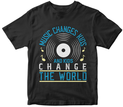 """Music changes kids, and kids change the world"" Music"