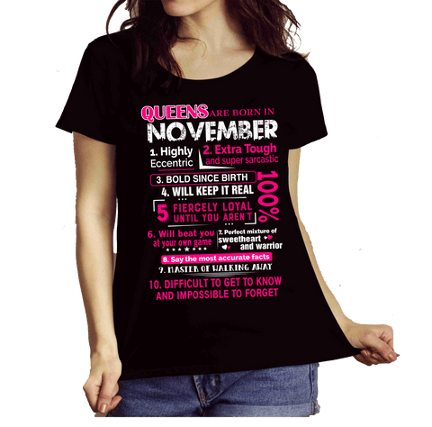 """Queens Are Born In November 10 Reasons"""