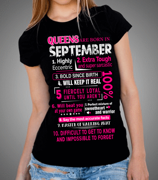"""Queens Are Born In September 10 Reasons"""