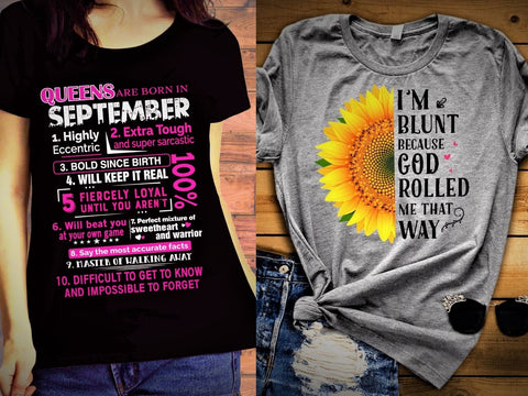 """SEPTEMBER - Queens + Blunt -Pack of 2"""