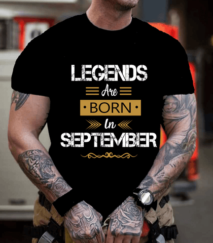 """Legends Are Born In September""- New Design."