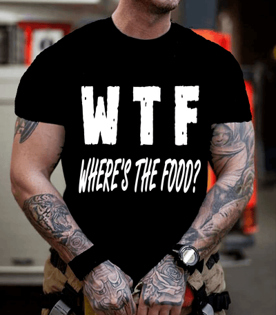 """WTF Where's The Food"" Men's"