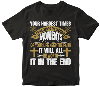 """Your hardest times often lead to the greatest moments of your life"" Christian"