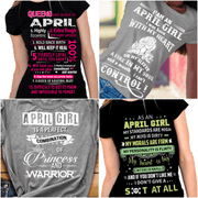 """April Pack Of 4 Shirts"""