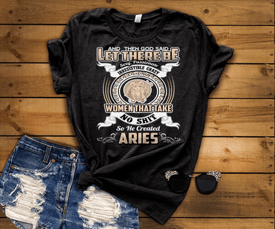 """Specially Crafted For Aries Wear On Your Zodiac Sign Personalized Shirt For Women"""