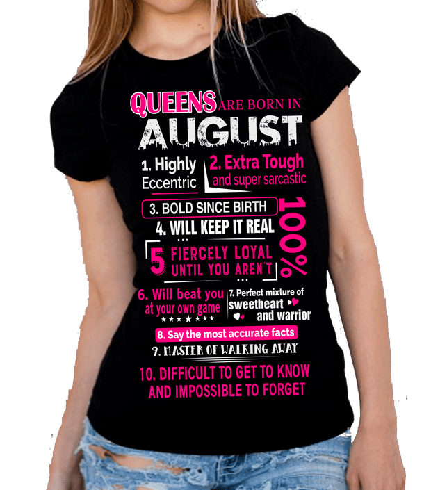 """August Pack Of 5 Shirts"""