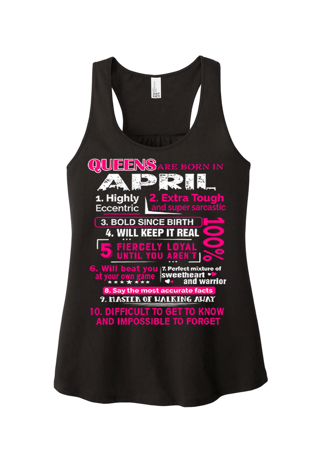 """Queens Are Born In April 10 Reasons"""