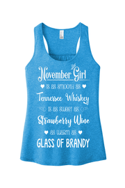 """November Girl Is As Smooth As Whiskey"""