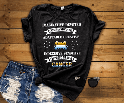 """Cancer Imaginative Devoted Compassionate Adaptable Creative"""