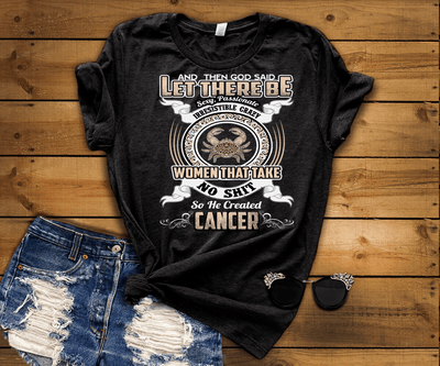 """Specially Crafted For Cancer's Wear On Your Zodiac Sign Personalized Shirt For Women"""
