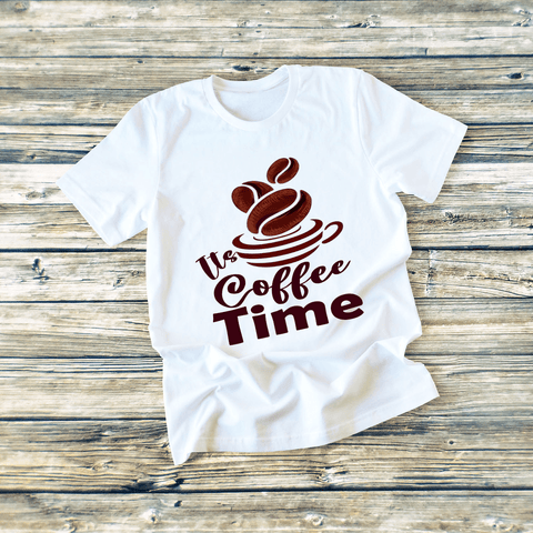 """It's Coffee Time"" T-SHIRT"