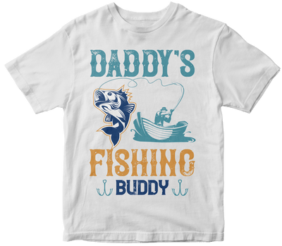 """Daddy's fishing buddy"" Fishing"