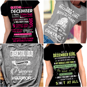 """December Pack Of 4 Shirts"""