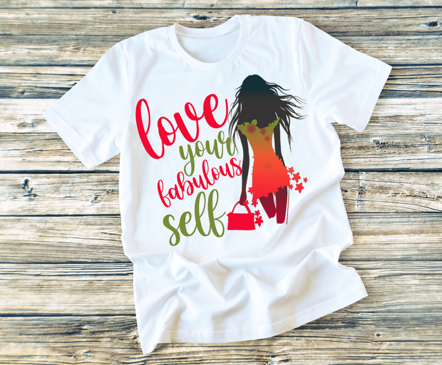"""LOVE YOUR FABULOUS"" T-SHIRT"