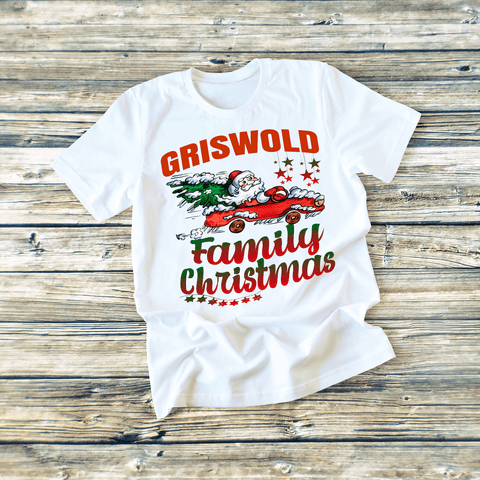"""FAMILY CHRISTMAS"" T-SHIRT"