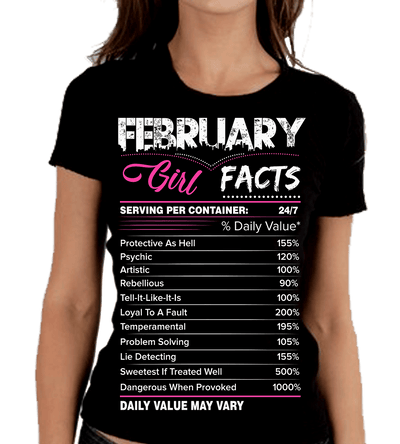 """February Girl Facts"""
