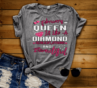 """FEBRUARY QUEEN IS LIKE A DIAMOND RESILIENT,STRONG AND BEAUTIFUL"" -Grey."