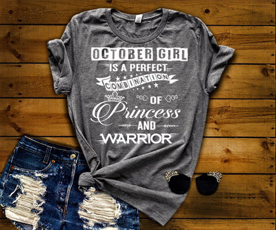 """October Girl Is Perfect Combination Of Princess And Warrior"""