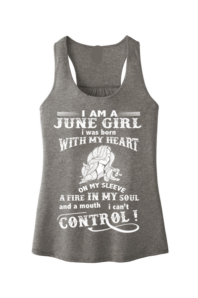 """A Fire In My Soul And A Mouth I Can't Control June Girl"""