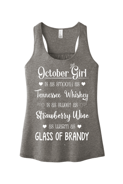 """October Girl Is As Smooth As Whiskey"""