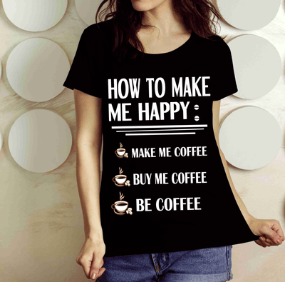 """How To Make Me Happy"" -Black"