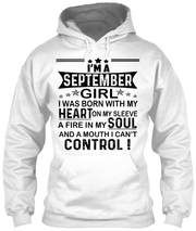 """I AM A SEPTEMBER GIRL"" YOUR BIRTHDAY MONTH SHIRT(50% OFF Today)."