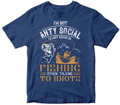 """I m not ANTY SOCIAL"" Fishing"