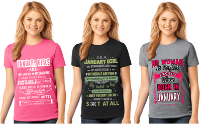 """January Pack Of 3 Shirts Combo -2"""
