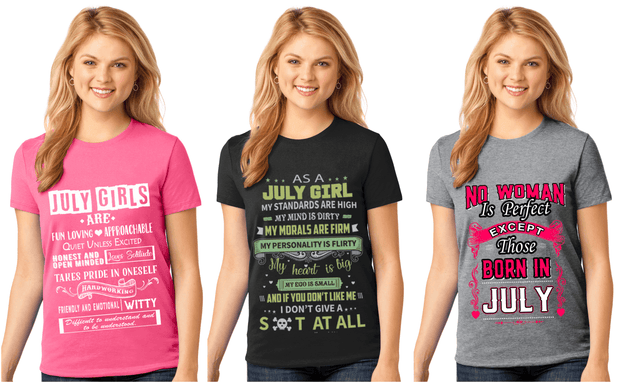 """July Pack Of 3 Shirts Combo -2"""