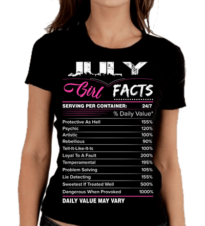 """July Girl Facts"""