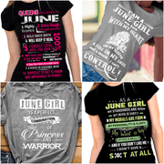 """June Pack Of 4 Shirts"""