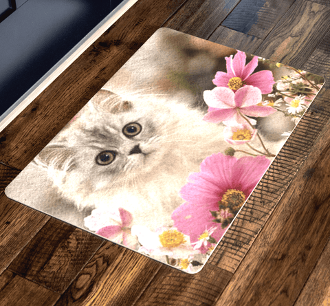 """Sweet Cute Cat Doormat"""