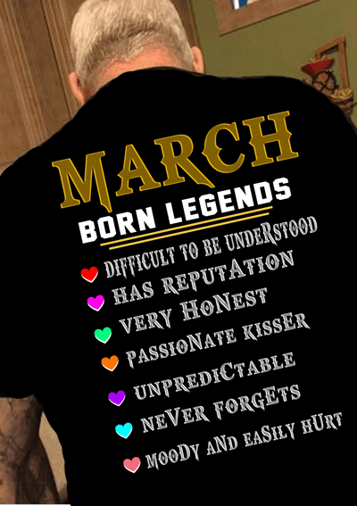 """March Born Legends"""
