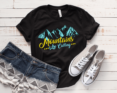 """MOUNTAINS""T-SHIRT"