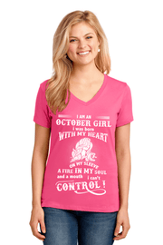 """A Fire In My Soul And A Mouth I Can't Control October Girl"" -Pink"