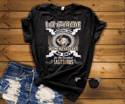"""Specially Crafted For  Sagittarius Wear On Your Zodiac Sign Personalized Shirt For Women"""