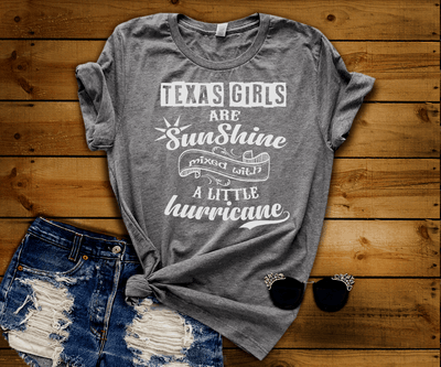 """Texas Girls Are Sunshine Mixed With Hurricane"""